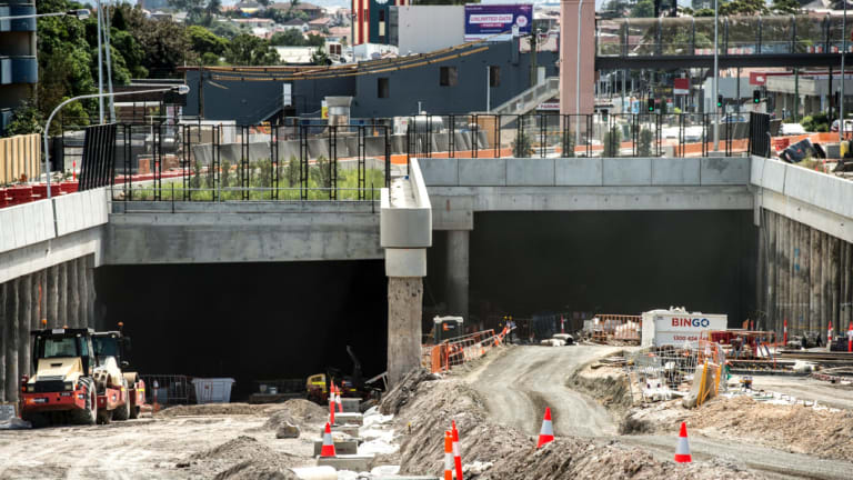 The government sold a 51 per cent stake in WestConnex to a Transurban-led consortium several months ago.