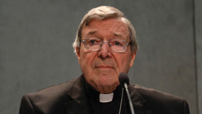 Cardinal George Pell in Rome in 2017.