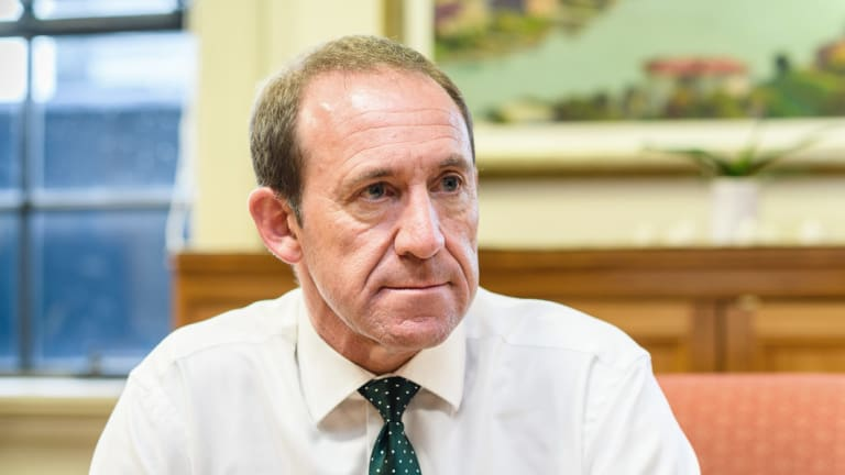 Justice Minister Andrew Little announced the referendum.