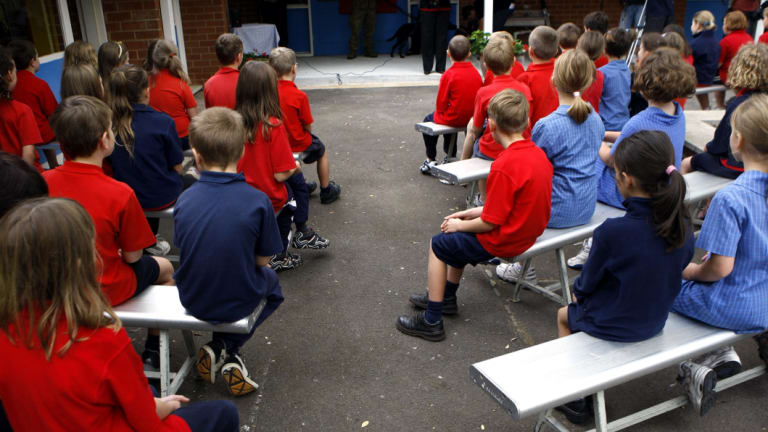 The debate over the ACT's comparatively poor NAPLAN results is heating up in the territory, but is an apparent class divide between schools to blame?