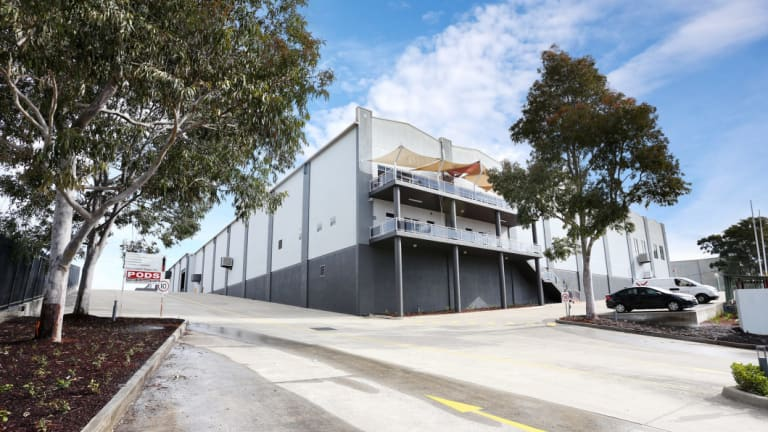 AUSPODS at Propertylink's 495 Victoria Road, Wetherill Park in Sydney's west.