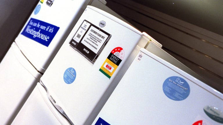The cost of white goods has hardly increased in 25 years.