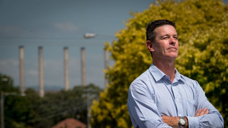 Morwell MP Russell Northe.