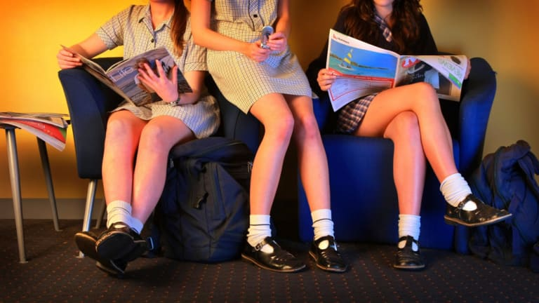 Single sex schools have been in the headlines and parents in some areas protest the lack of co-ed schools.