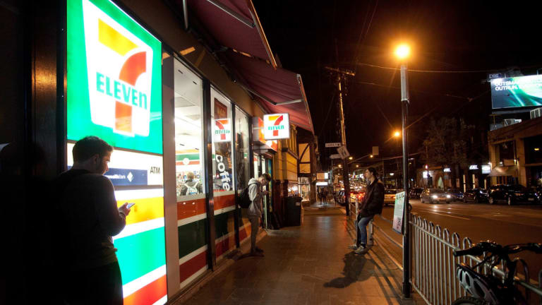 7-Eleven stores have suffered from a spate of break-ins.