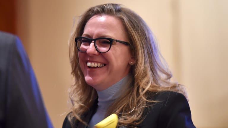 Laura McBain, former CEO of Bellamy's.