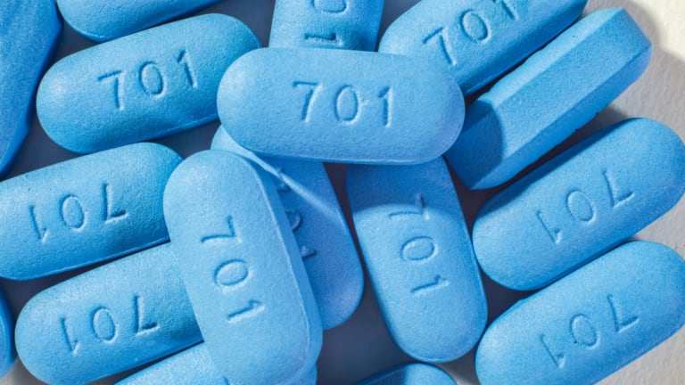 The pills used for HIV Pre-Exposure Prophylaxis (PrEP), a key medication in managing the disease's prevalence.