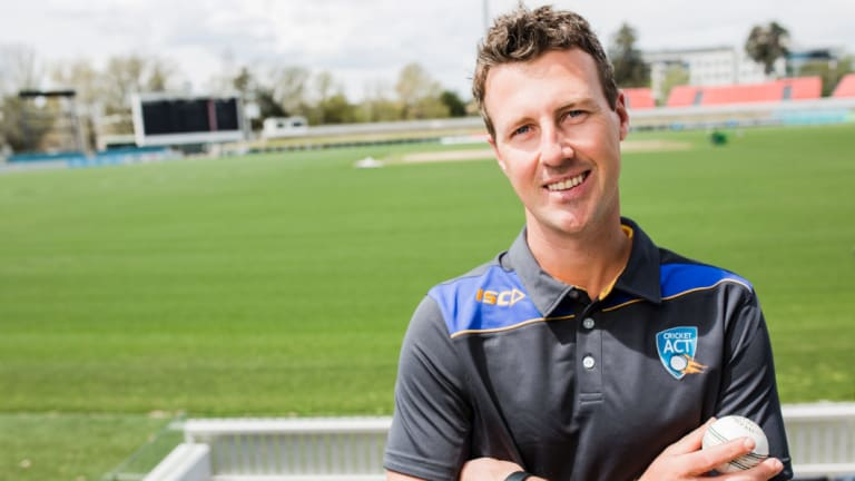 The boss: New Cricket ACT chief executive James Allsopp.
