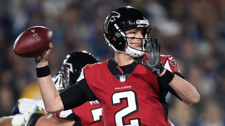 Chump change: Atlanta's Matt Ryan held the previous mark for an NFL contract.