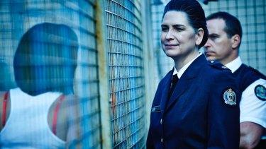 "Pamela Rabe played ""the scariest of villains"", prison warden Joan Ferguson, in Wentworth."