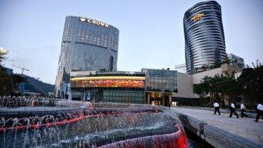 The City of Dreams casino in Macau, China.