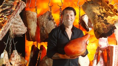 Butcher Anthony Puharich at his shop in Woollahra.
