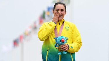 Commonwealth Games gold medalist Chloe Hosking keeps on winning.