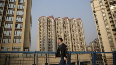 China's property sector is stuttering.