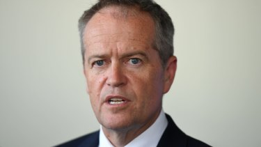 "Bill Shorten says Labor is ""not for turning"" on its franking credits policy."