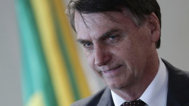 Brazil's President-elect Jair Bolsonaro has indicated he wanted to pull out of the Paris deal.