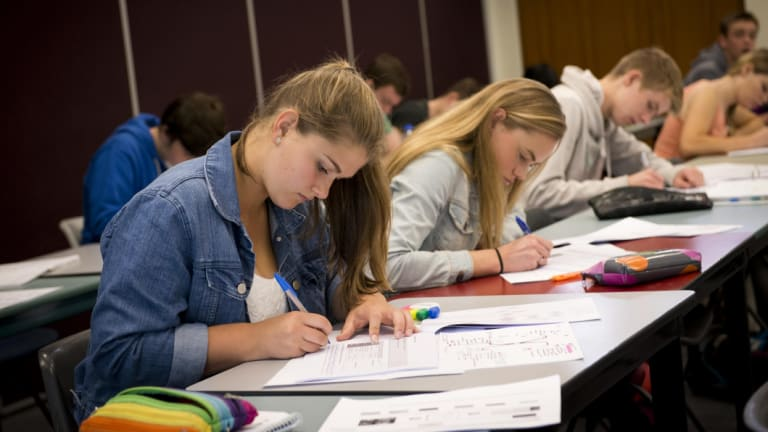 Six in ten higher education courses in Australia are now being completed by women.