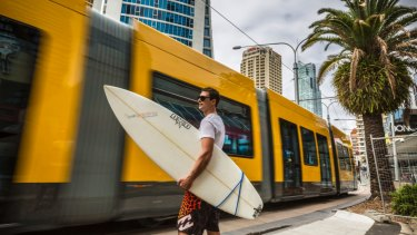 The Gold Coast Light Rail listed among the projects highlighted in the Queensland Treasurer's budget speech.