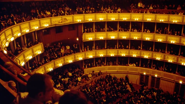 The Vienna Opera House.