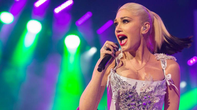 Former No Doubt singer Gwen Stefani is to blame for the Trump presidency, says Michael Moore.