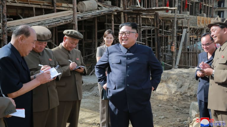 Smaller remote cities, like Samjiyon, are said to be benefiting from an massive North Korean construction campaign.