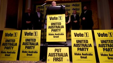 Clive Palmer spent tens of millions of dollars on advertising his party's federal election campaign.