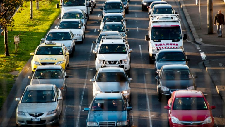 Traffic congestion is chronic in Australia's major cities.