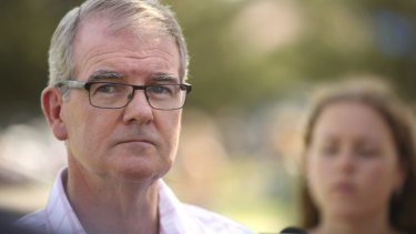 Standing aside: NSW Labor Opposition Leader Michael Daley.