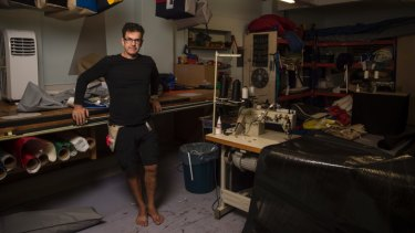 Steve Jackson is the owner of Sydney Sailmakers in Drummoyne and one of 171 sailmakers in Australia.