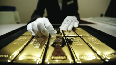 Big on bullion: Central banks have been piling into gold last year for a variety of reasons.