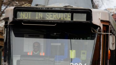 Melbourne trams will come to a halt on Friday morning.