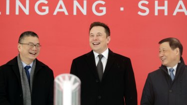 Elon Musk's China is launching in China later this year.