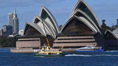 A sub-contractor for the Sydney Opera House has got her job back after losing it over a drunken episode.