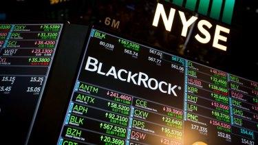 BlackRock has $9.5 trillion in funds under management.