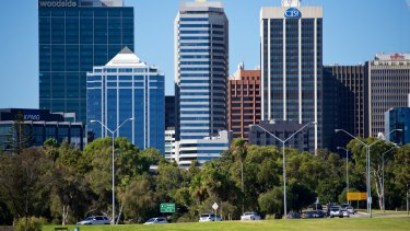 The girl was attacked on the Perth CBD foreshore.