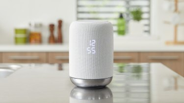 A Sony speaker that features Google Assistant. Recordings captured by smart speakers, or your phone, after the Assistant has been summoned are stored by Google.