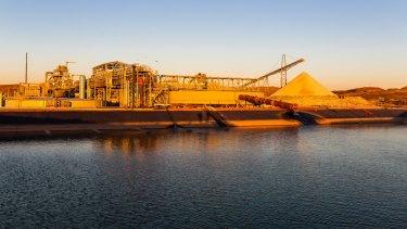 Pilbara Minerals Pilgangoora lithium mine.