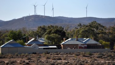 AGL will complete its Silverton wind farm, near Broken Hill, NSW, this year.