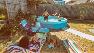 """Research shows the hidden dangers of """"temporary"""" backyard pools for young children."""