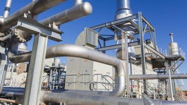 APA's Wallumbilla gas plant in Queensland.