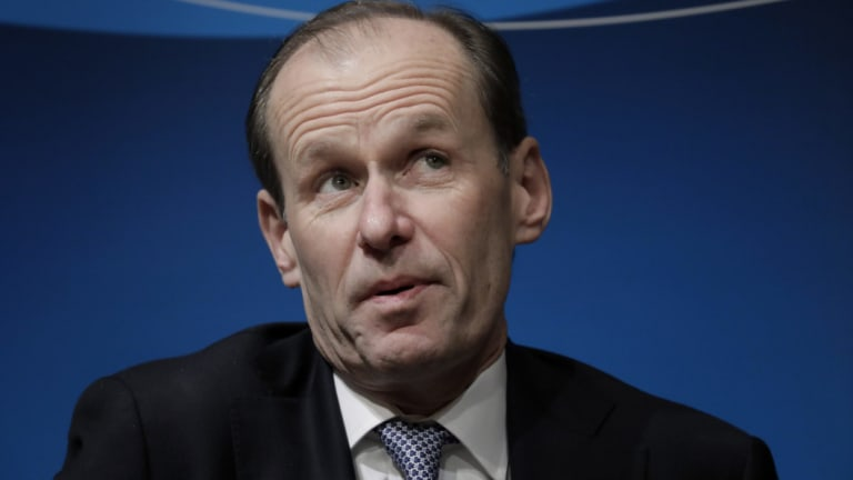 "ANZ chief Shayne Elliott said the industry faced a ""permanent"" shift towards slower credit growth."