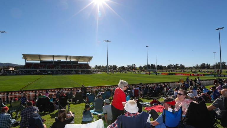 Packed house: Glen Willow in all its glory during an NRL match.