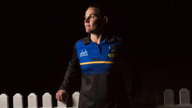 ACT Meteors cricket captain Erin Osborne.