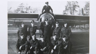 Harold Brabin, bottom row, far right.