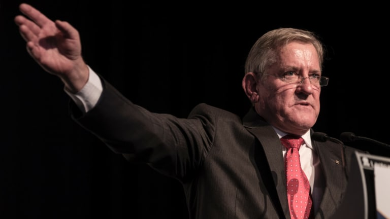 Queensland Resources Council CEO Ian Macfarlane stressed te impact of mining jobs.