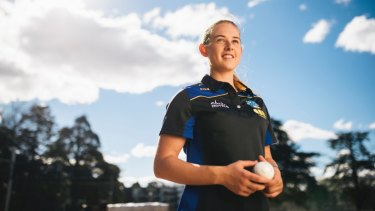 ACT Cricketer Maitlan Brown has been named in the Australia A squad to tour India.
