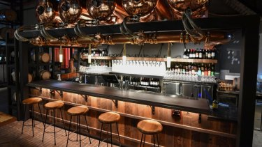 You can soon perch up at the new-look Espy bar.