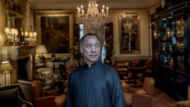 Guo Wengui,  who is also known as Miles Kwok, has been a member of US President Donald Trump's Florida club Mar-a-Lago.