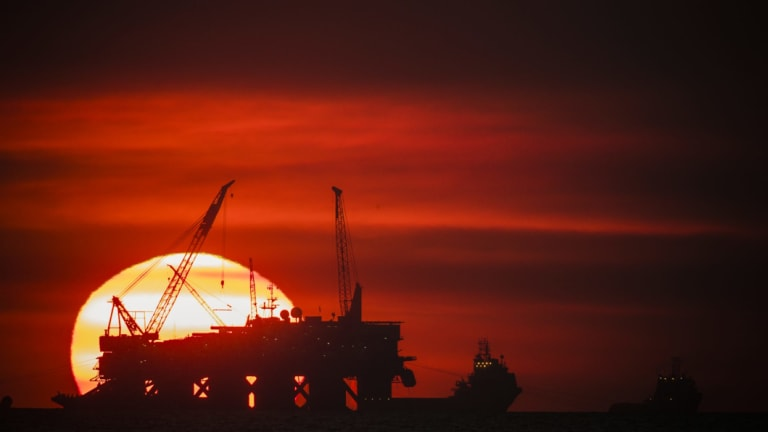 Big jump in gas production has propelled Australia's greenhouse gas emissions higher.