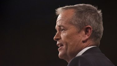 Bill Shorten at the NSW Labor election launch in Sydney on Sunday.
